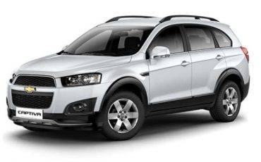 Group V – Chevrolet Captiva Automatic 7 seats